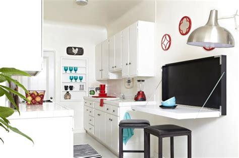 la table de cuisine pliante  idees pour sauver despace