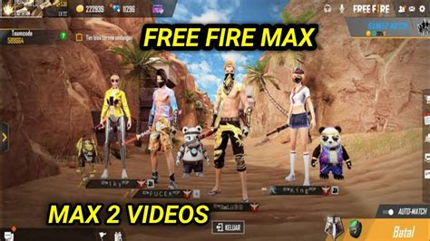 You, along with 49 other players, are dropped on a remote island and your goal is to be. FREE FIRE MAX 2 VIDEOS OFFICIAL//FREE FIRE MAX OFFICIAL ...