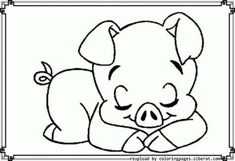Coloring Page Pigs Coloring Home