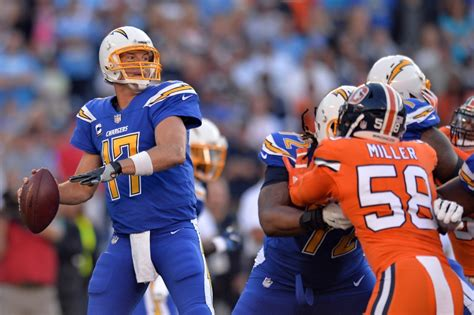 San Diego Chargers Youngsters Help Philip Rivers