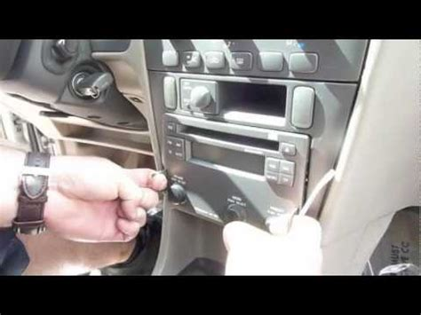 install volvo   radio  ac module youtube