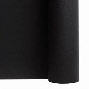 Nappe Noire Papier : nappe en intiss soft noire en rouleau 1 20 x 50 m f50053noi ~ Teatrodelosmanantiales.com Idées de Décoration