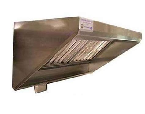 Superior Hoods CS30 4 96 8 Ft Stainless Steel Concession