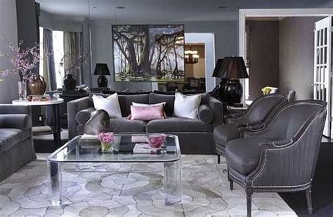 Grey And Purple Living Room Decor by 15 Modern Interior Decorating Ideas Blending Gray And Pink