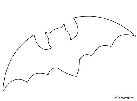 Bat Template Related Coloring Pageshalloween Pumpkinhalloween Pumpkin