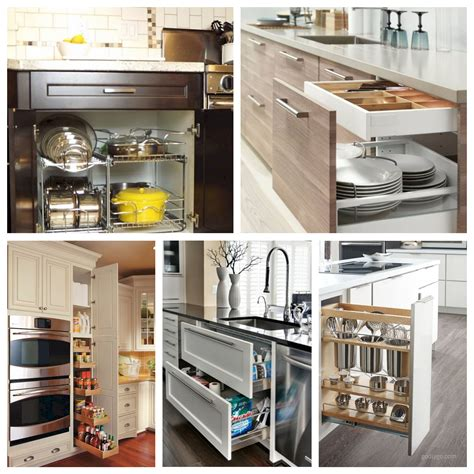 44 Smart Kitchen Cabinet Organization Ideas  Godiygocom