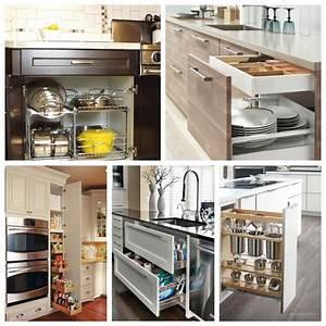44, Smart, Kitchen, Cabinet, Organization, Ideas