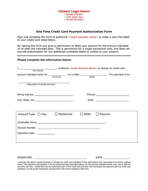Nov 01, 2020 · subject: 43 Credit Card Authorization Forms Templates {Ready-to-Use}