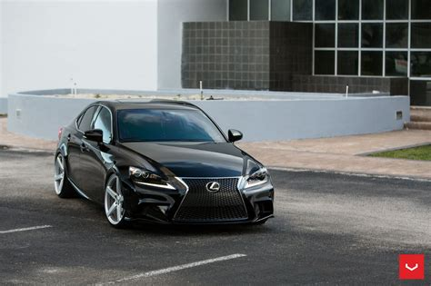 lexus    sport black vossen wheels cars wallpaper