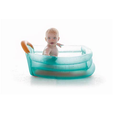 baignoire gonflable 0 12 mois turquoise de jane