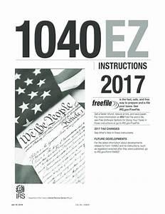 2017 - 2019 Irs Instructions 1040-ez