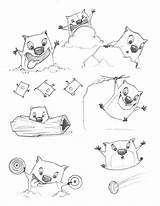 Stew Template Wombats Too Coloring Pages Sketch Feelings sketch template