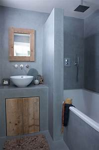 Salle De Bain Beton Cire : 27 tadelakt bathroom design ideas decoholic ~ Dailycaller-alerts.com Idées de Décoration