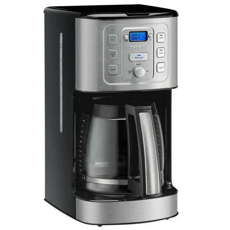 Good for heavy coffee drinkers. Cuisinart PerfecTemp 14 Cup Programmable Coffee Maker LCD