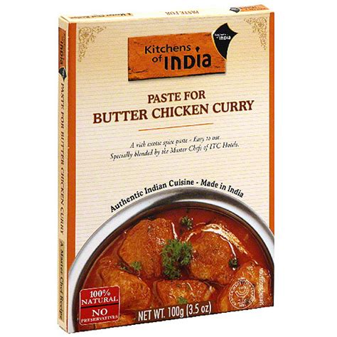 Kitchens Of India Curry Paste For Butter Chicken 3 5 Oz