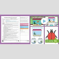 * New * Eyfs Maths Fish In A Tank Addition Whole Class