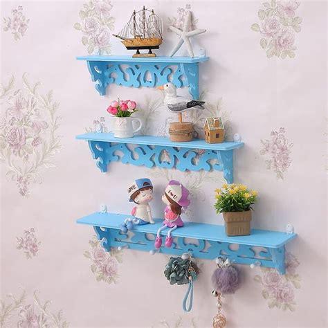 rak dekorasi vintage 1 set isi 3 pcs hiasan dinding shabby