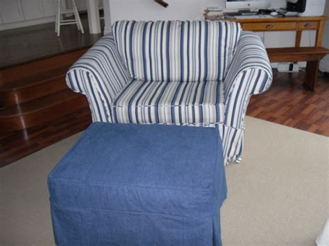 take a seat on a club chair slipcover during our slipcover