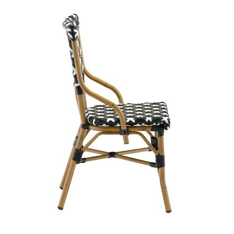 chaise bistrot alu chaise bistrot en alu et polyrotin chaise bistrot pour
