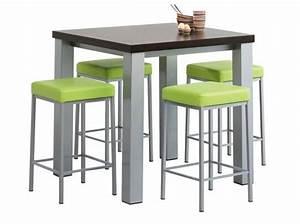Table De Cuisine Haute : quelle table pour ma cuisine elle d coration ~ Teatrodelosmanantiales.com Idées de Décoration