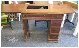 Rustique The Rehab Boutique Sewing Machine To Desk