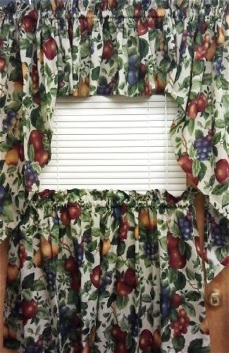 kitchen curtains with fruit design kitchen curtains with fruit design peenmedia 7909