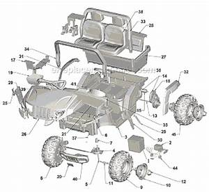Power Wheels L2170 Parts List And Diagram   Ereplacementparts Com