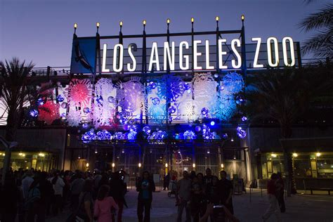 la zoo lights lights in los angeles where to find lights