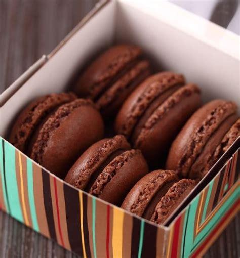 recette macarons chocolat coeur de caramel au beurre sale