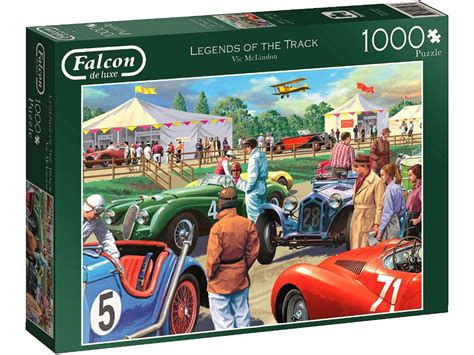 Legends Of The Track 1000 Piece Puzzle By Falcon De Luxe