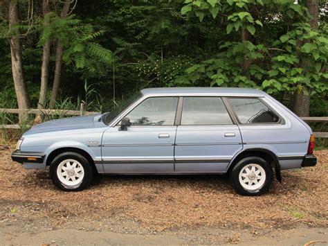 subaru wagon 1980 classic cars of the 1980 39 s 1984 subaru gl 4wd