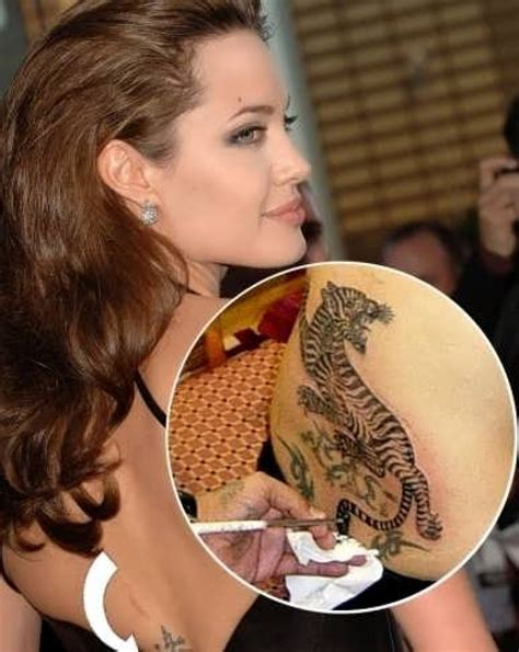 sexiest angelina jolie tattoos   inspire