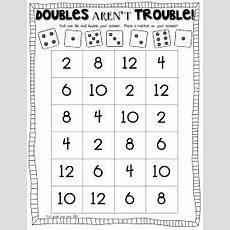 Freebielicious Doubles Aren't Trouble!  1st Grade  Math, Math Facts, 1st Grade Math