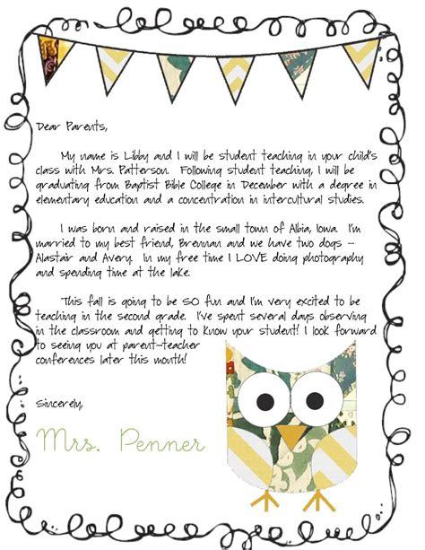 meet  teacher letter classroom ideas letter