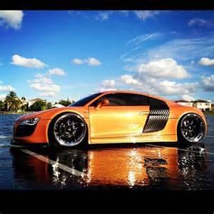 Audi R8 Orange
