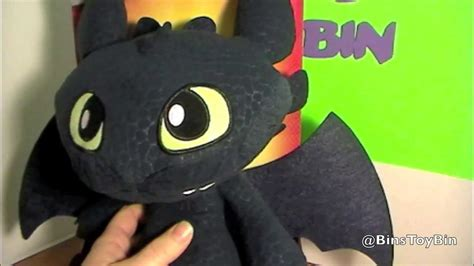 Squeeze & Growl Toothless Plush! Dreamworks Dragons Cute
