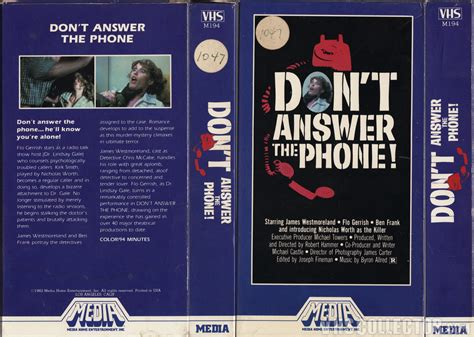 don t answer the phone don t answer the phone vhscollector your analog
