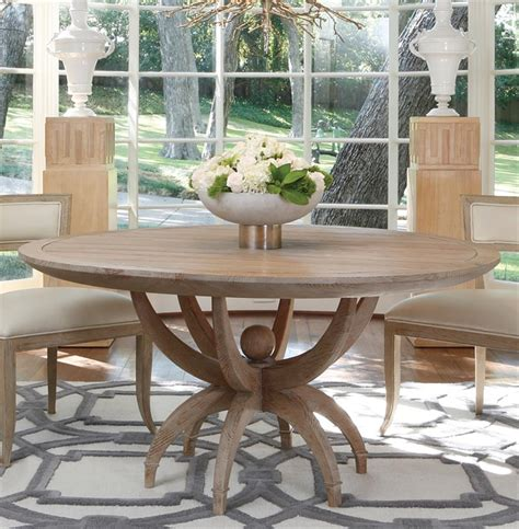 atticus coastal beach white oak contemporary  dining
