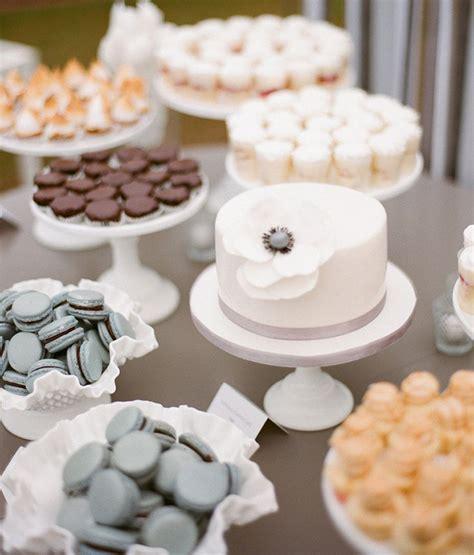 trend unique wedding reception dessert ideas american