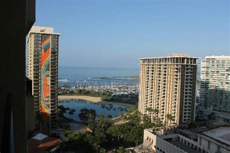 View from Tapa Tower room  Picture of Hilton Hawaiian