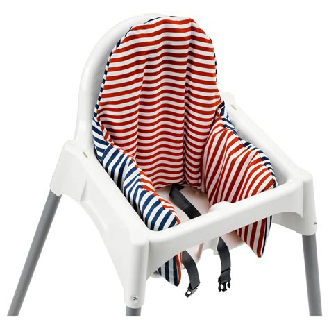pyttig supporting cushion and cover red blue ikea