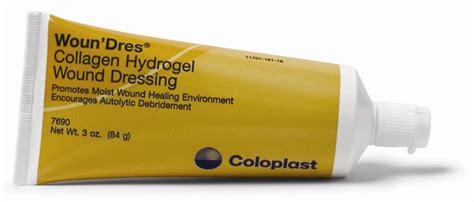 Coloplast Woun Dres Collagen Hydrogel Wound Dressing, 1oz