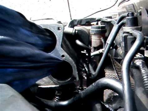 volvo  egr  inlet manifold cleaning youtube