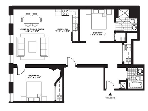two bedroom floor plans 55 why live ordinary sized brand new