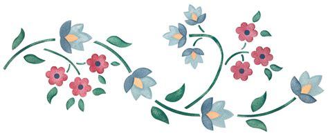 merrily 39 s vine stencil american home stencils