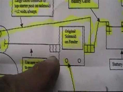 How Install Ford Mini High Torque Starter Youtube