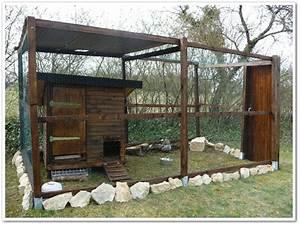 plan poulailler 5 poules poulailler With maison en rondin prix 16 haut vent bois pas cher