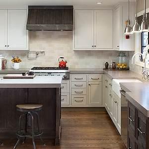 Two Tone Kitchen Cabinets - Design, decor, photos