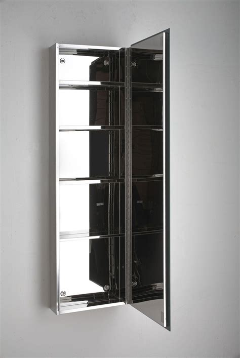 Narrow Mirrored Bathroom Cabinet by Quality Lille Single Door Mirror Bathroom Cabinet
