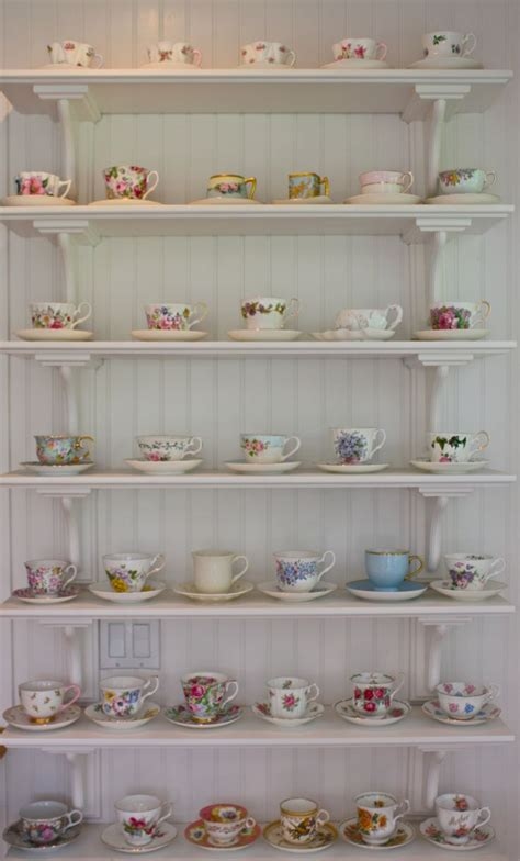 tea cup shelf 25 best ideas about tea cup display on coffee